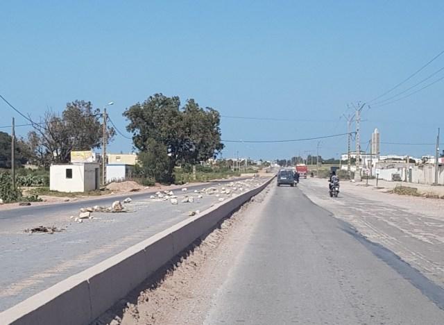 Les travaux sur le «satané» tronçon  El-Jadida-Jorf Lasfar (route nationale) en stand-by