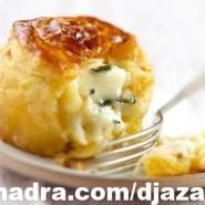 الطبخ الجزائري العصري فطائر بالجبنة البيضاء
