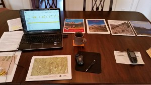 Organizing hundreds of pages of CDT maps
