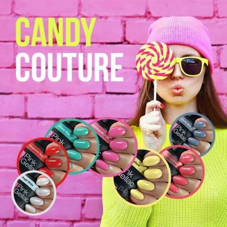 pink gellac candy couture