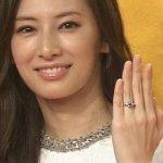 北川景子の婚約指輪 値段はいくら?何カラット?大きさや商品名を大胆予想!