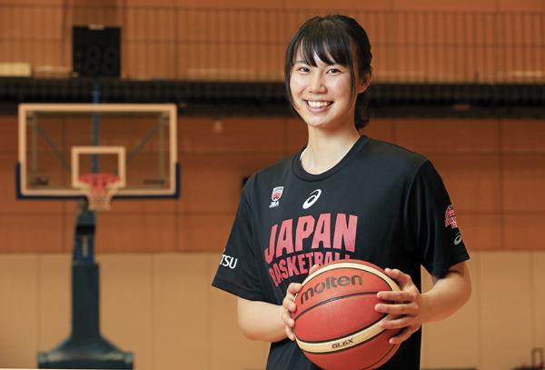 藤本愛妃 女子バスケU19日本代表 日本医療保健大学