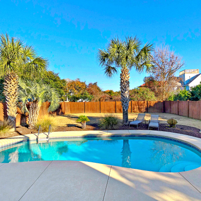 Destin vacation home rental with swimming pool
