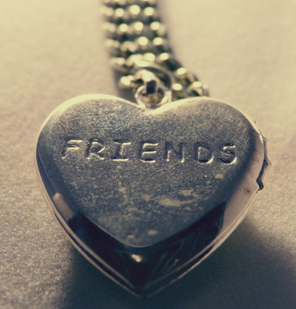 "locket with ""friends"""