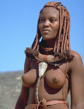 young himba girls