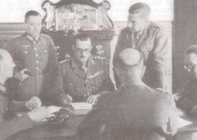 Η υπογραφή της συνθηκολόγησης με τους Γερμανούς
