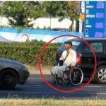Ανάπηρος αλλοδαπός στη Θεσσαλονίκη σηκώθηκε, περπάτησε, μπήκε στη Μερσεντές και… έφυγε!