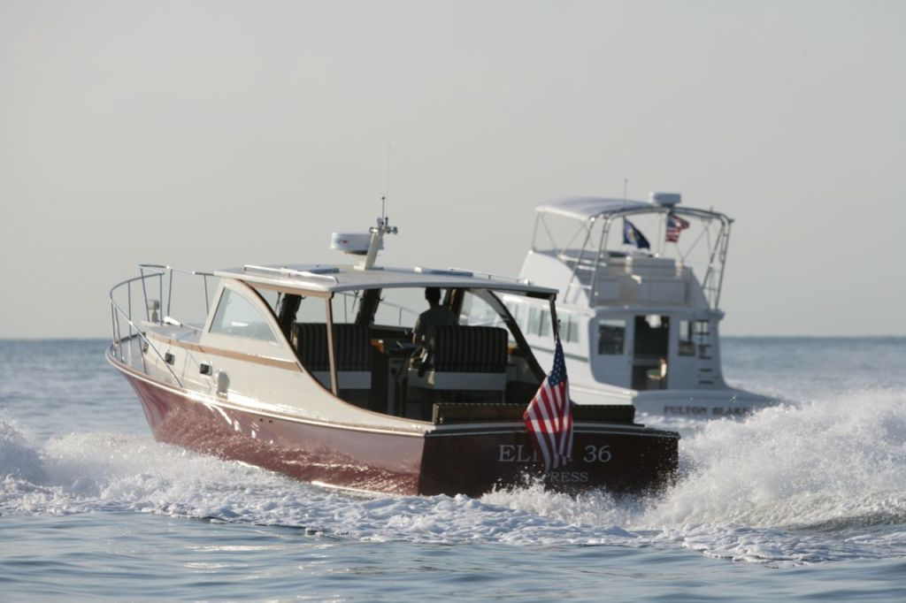 The Ellis Flybridge 36 and Express Cruiser