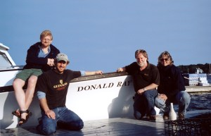 Don and Wanda with sons Shane and Anthony