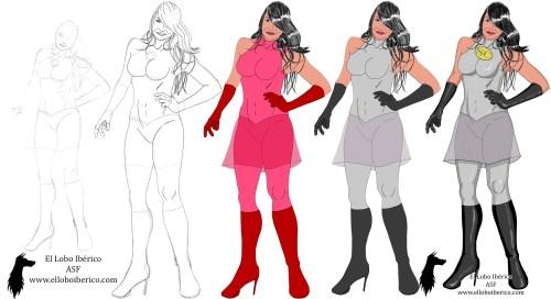 Superheronína 3 evolución blog