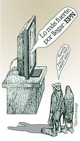 Lo más fuerte está por llegar: Peña Nieto