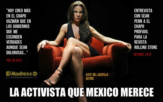 Kate del Castillo, la activista que México merece