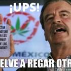 Vicente Fox dice que Estados Unidos necesita a México para recoger sus manzanas