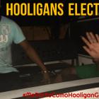 Cachan a Hooligans electorales destruyendo pendones del Hijo Desobediente