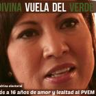 Renuncia Ludivina Menchaca al PVEM