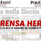 La prensa herida sigue con mentiras, aun después de perdida la elección