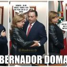 Arely Gómez y Roberto Borge en reunión en la PGR