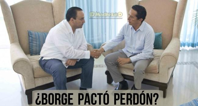 ¿Carlos Joaquín dio indulto a Roberto Borge?