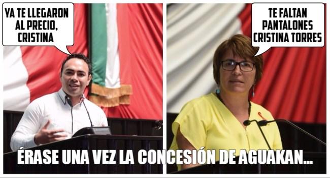José Carlos Toledo y Laura Beristáin