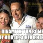 Perla Tun y Carlos Joaquín