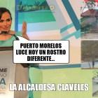 Laura Fernández, la alcaldesa Claveles