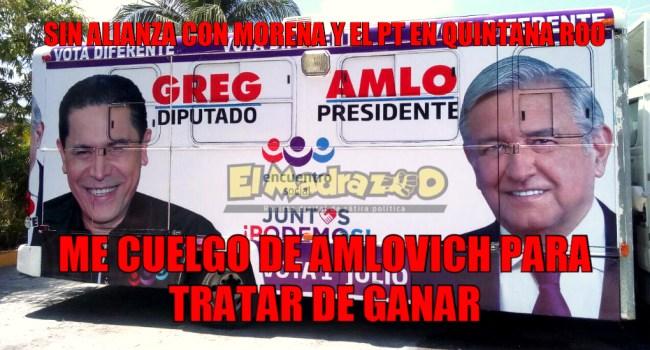 Greg Sánchez y AMLO