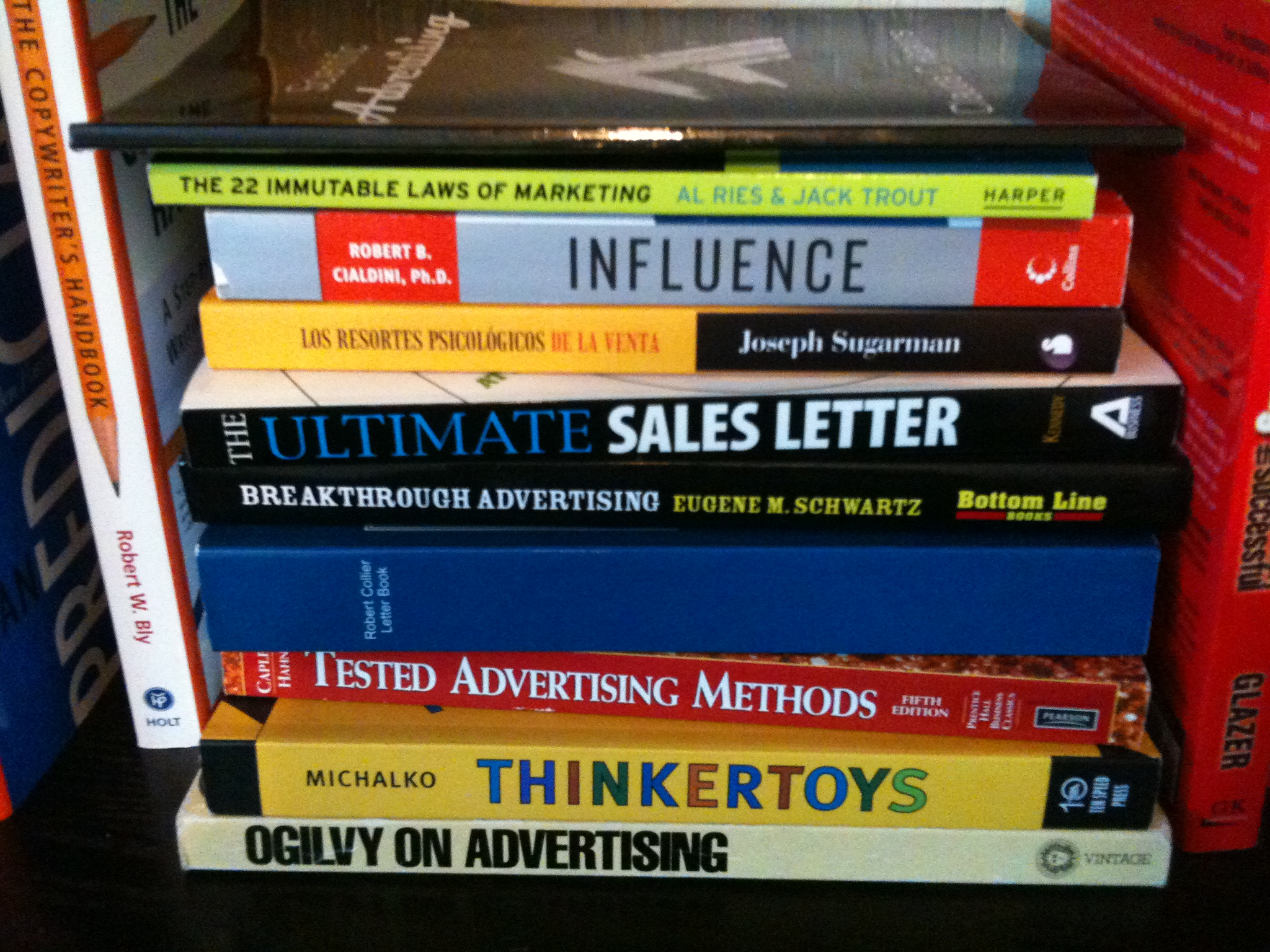 Libros de marketing y publicidad