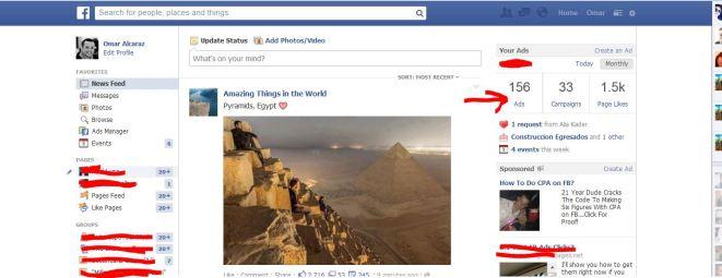 156 ads facebook 33 campanas