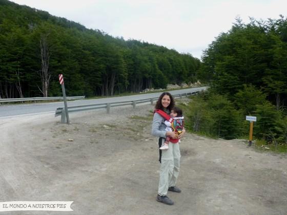 Punto de comienzo del trekking