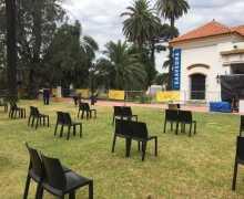 Teatro en los jardines del Saavedra