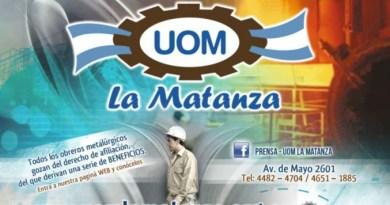 "Miguel Saredi : ""Mensaje a la UOM"""