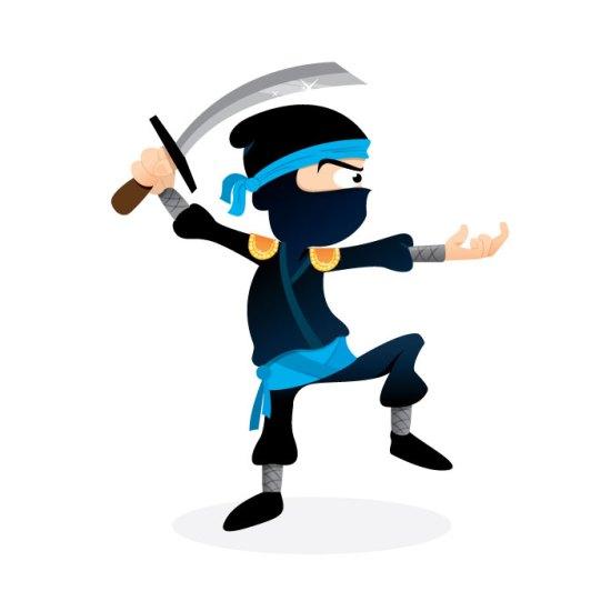 elodie le pape LBJ ninja illustration