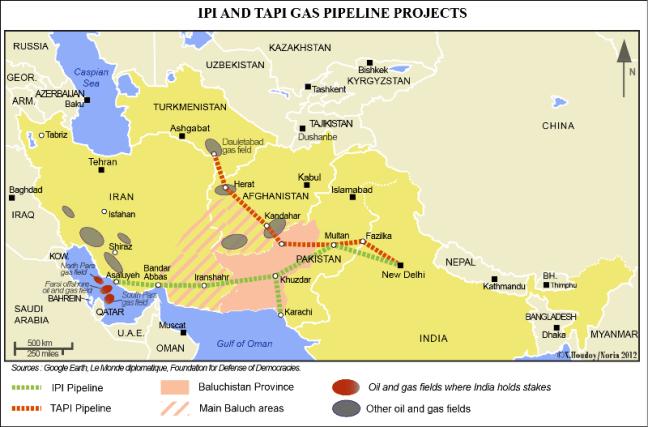 Los proyectos de conexión energética entre el Índico y Asia central poseen un gran potencial, si bien limitado por los complejos entornos de seguridad regional. Fuente: X. Houdoy/Noria