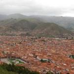 El Cusco visto desde Saqsayhuamán