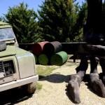 Fotos Dinópolis Teruel, jeep y dinosaurio