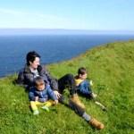 Fotos de Islas Feroe, Vero, Teo y Oriol en Mykines