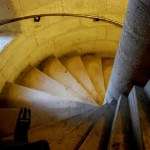 Fotos de Notre Dame de Paris, escalera de caracol