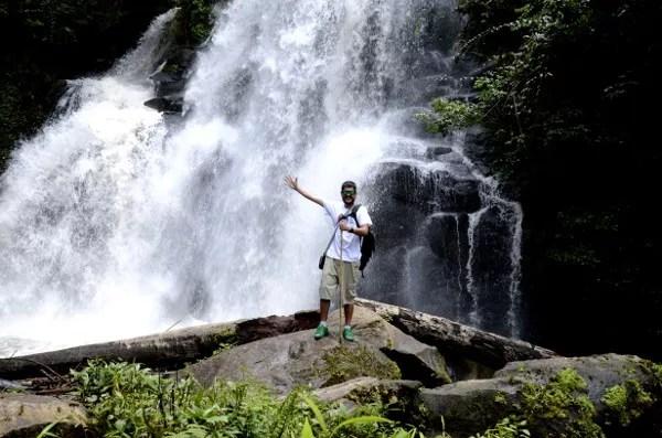 Fotos de Tailandia, Pau en la cascada