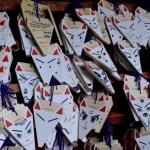 Fotos del Fushimi Inari de Kioto, deseos con forma de Inari