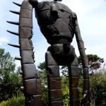 Fotos del Museo Ghibli de Mitaka, robot vertical