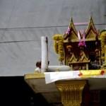 Fotos del mercado flotante de Damnoen Saduak, altares
