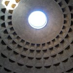 La cúpula del Panteón de Roma