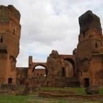 Las termas de Caracalla de Roma