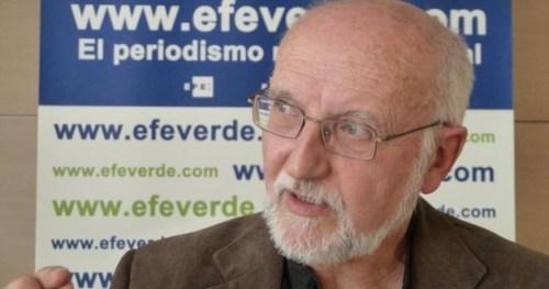 Domigo Jiménez Beltrán, presidente de la Fundación Renovables. FOTO: EFE.