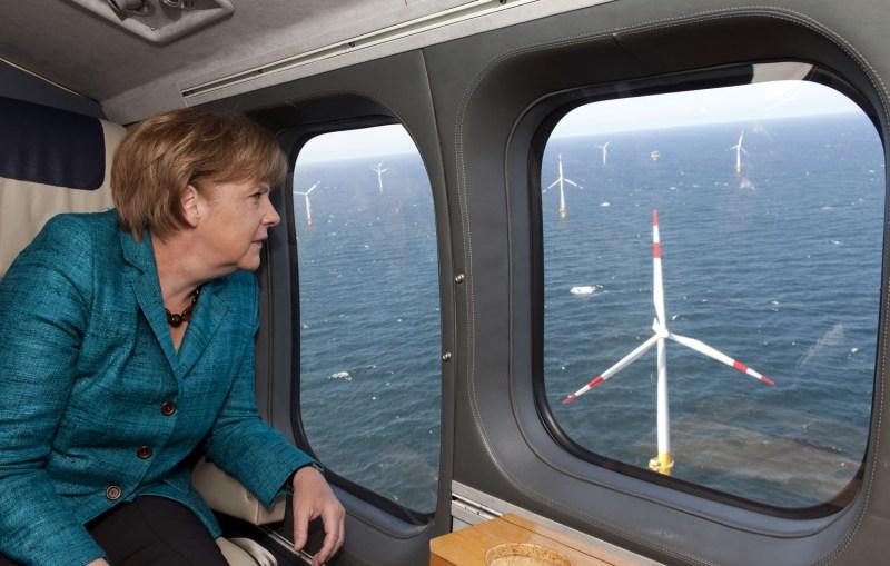 Ángela Merkel ha sido la gran impulsora de las renovables en Europa.