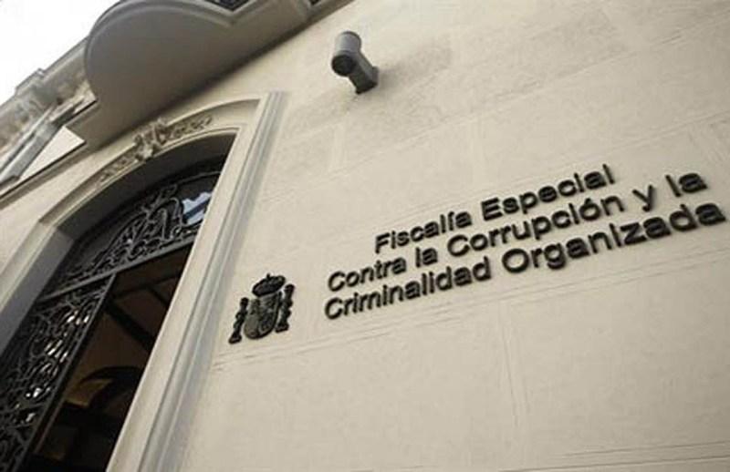 Sede de la Fiscalía Especial contra la Corrupción en Madrid.
