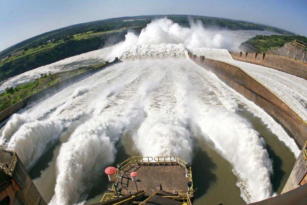 Central hidroeléctrica de Itaipú.