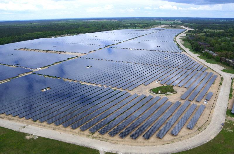 Planta fotovoltaica de Alt Daber, en Brandeburgo.