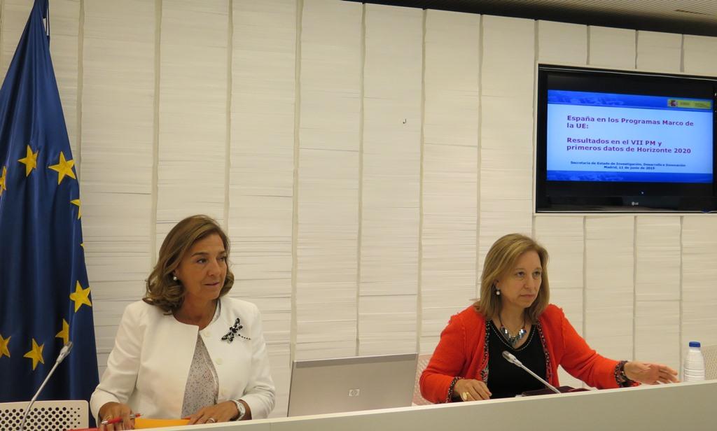 Carmen Vela, a la izquierda, dirige la política en innovación en España. FOTO: Mineco.