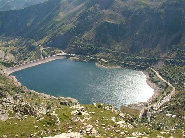 Embalse de Estany Gento